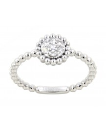 ROUND DIAMOND RING (TR3189)