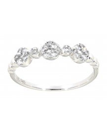 FLORAL DIAMOND RING (TR3215)