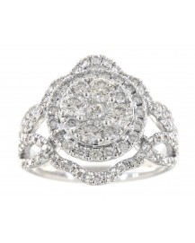 CLUSTER DIAMOND RING (TR3305)