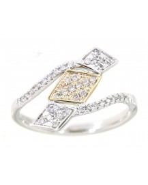 RHOMBUS DIAMOND RING (TR3321)