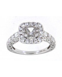 SEMI MOUNT ENGAGEMENT RING (TR3370)