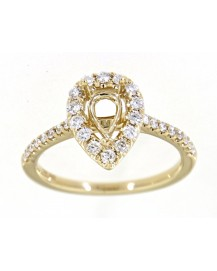 SEMI MOUNT ENGAGEMENT RING (TR3406)