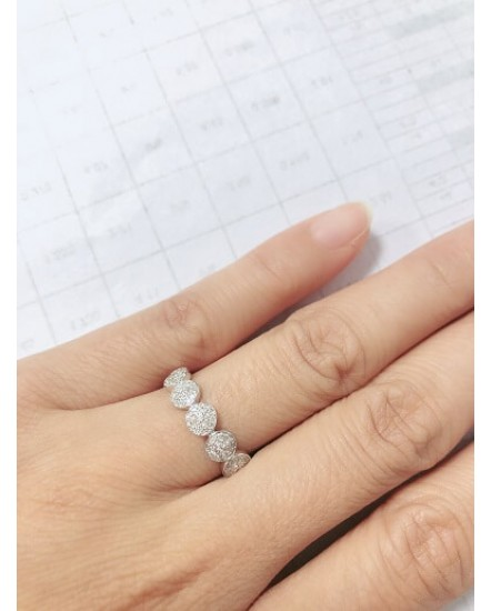 ROUND DIAMOND RING (TR3439)