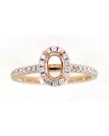SEMI MOUNT ENGAGEMENT RING (TR3524)