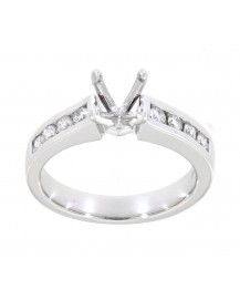 SEMI MOUNT ENGAGEMENT RING (TR397A)