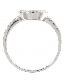 CURVED DIAMOND BAND (TR493B)