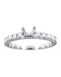 SEMI MOUNT DIAMOND ENGAGEMENT RING (TR842)
