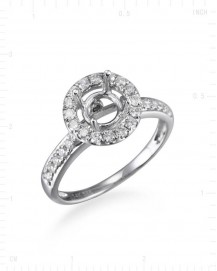 SIMPLE ENGAGEMENT RING (TR967)