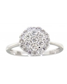 CLUSTER DIAMOND RING (VR232)