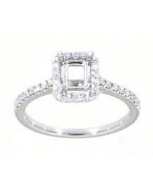 SEMI MOUNT ENGAGEMENT RING (TR1875A)