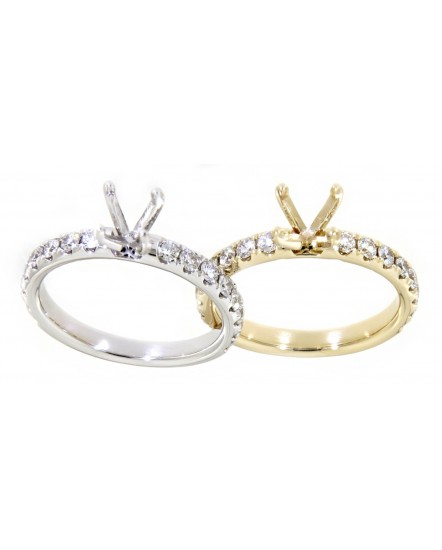 SEMI MOUNT DIAMOND RING (TR3359)