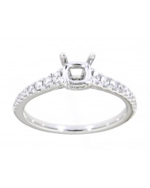 SEMI MOUNT ENGAGEMENT RING (TR3368)