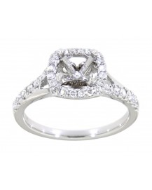 SEMI MOUNT ENGAGEMENT RING (TR3369)