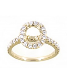SEMI MOUNT ENGAGEMENT RING (TR3405)