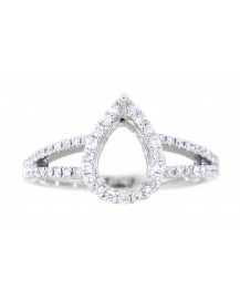 SEMI MOUNT ENGAGEMENT RING (TR3407)