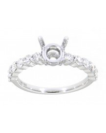 SEMI MOUNT ENGAGEMENT RING (TR3412A)