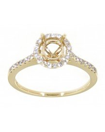 SEMI MOUNT ENGAGEMENT RING (TR3416A)
