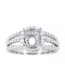 SEMI MOUNT ENGAGEMENT RING (TR3419)
